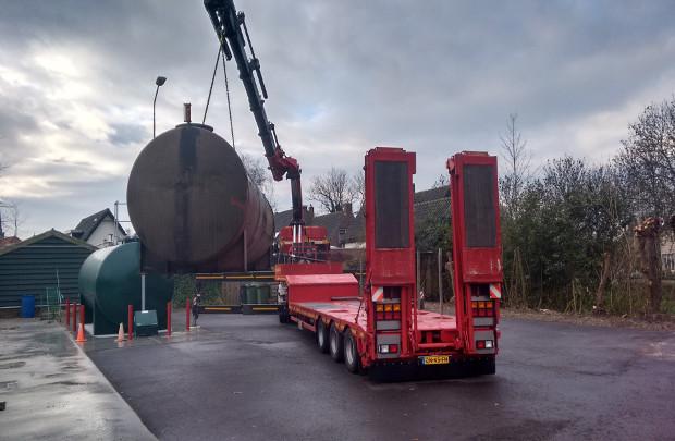 Dieseltank afvoeren kosten